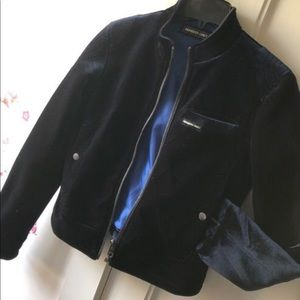 Members Only Velour Jacket